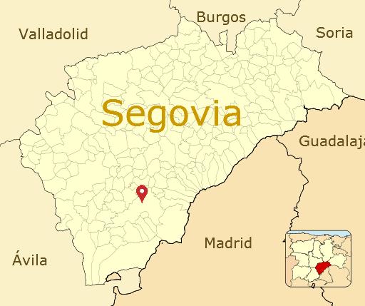 segovia espanha mapa Why Segovia? – Spanish Segovia 'EducaSpain' segovia espanha mapa